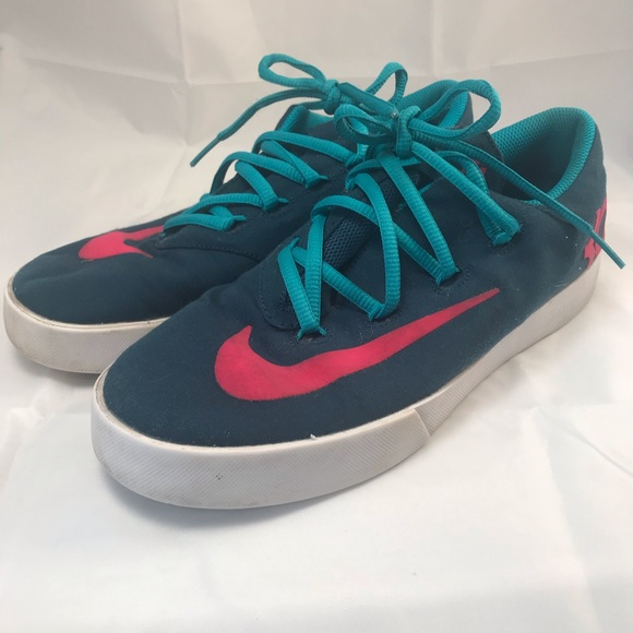 Nike Other - NIKE Boys Youth Shoes U.S 7Y Teal Pink KD